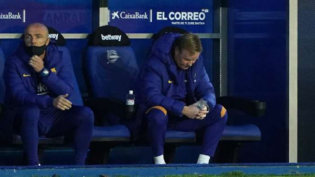"""Barca khởi đầu siêu tệ, HLV Koeman có bị """"bẻ ghế""""? - Ảnh 1."""