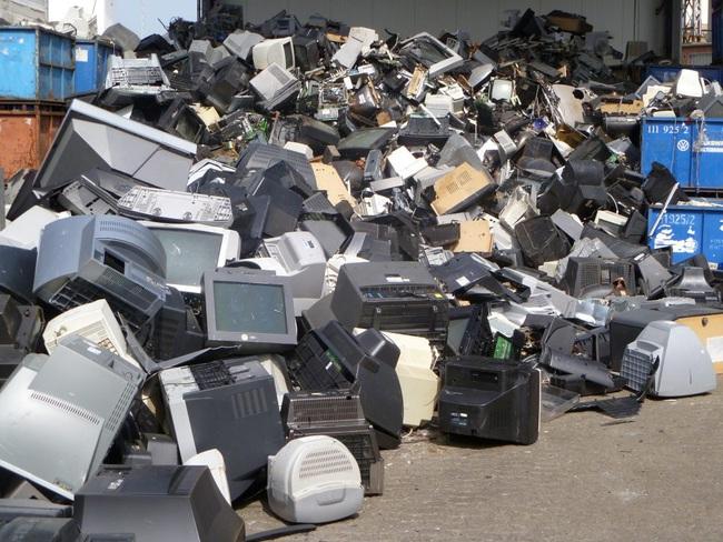 Mối nguy từ rác thải điện tử - Ảnh 2.