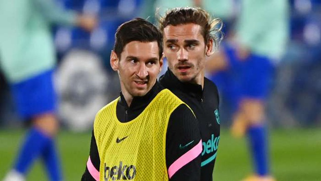 """Lionel Messi bắt đầu sa sút: Siêu sao """"hết phép""""? - Ảnh 4."""