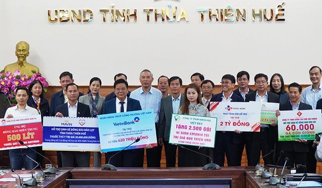 Nhiều doanh nghiệp lớn thông qua Bộ NNPTNT hỗ trợ TT-Huế khôi phục sản xuất  - Ảnh 3.