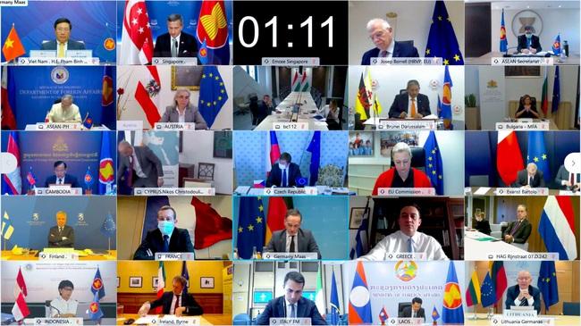ASEAN – EU nâng cấp quan hệ lên đối tác chiến lược - Ảnh 1.
