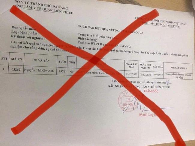 Sửa kết quả xét nghiệm SARS-CoV-2 của đồng nghiệp, nữ điều dưỡng bị đình chỉ công tác - Ảnh 1.