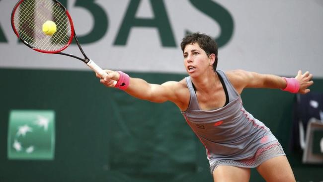 Carla Suarez Navarrro.