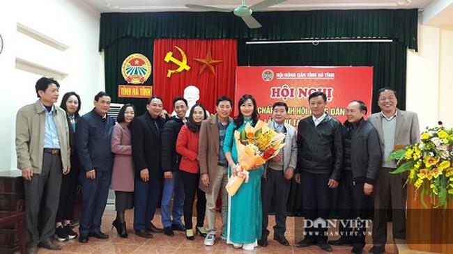 Hà Tĩnh có tân Chủ tịch Hội nông dân tỉnh - Ảnh 3.