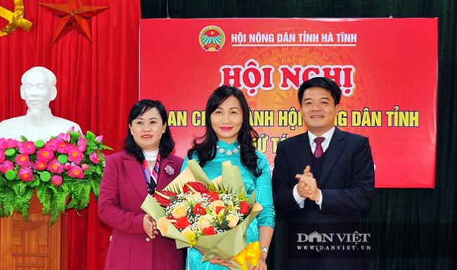 Hà Tĩnh có tân Chủ tịch Hội nông dân tỉnh - Ảnh 2.