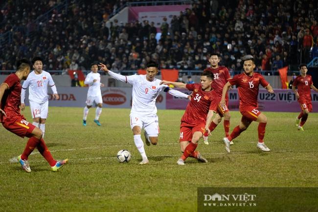 Văn Quyết ghi bàn, đội tuyển Việt Nam thắng ngược U22 Việt Nam - Ảnh 3.