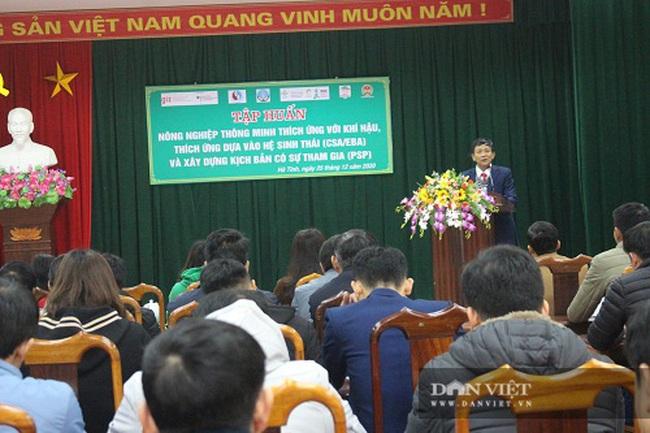 4 huyện nào của tỉnh Hà Tĩnh thực hiện dự án Nông nghiệp thông minh? - Ảnh 1.