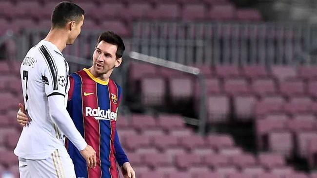 Messi thừa nhận Ronaldo là ngôi sao xuất chúng của bóng đá.