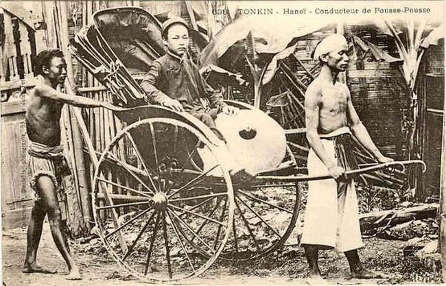Nghề xẻ gỗ, cắt tóc của người Việt xưa - Ảnh 3.