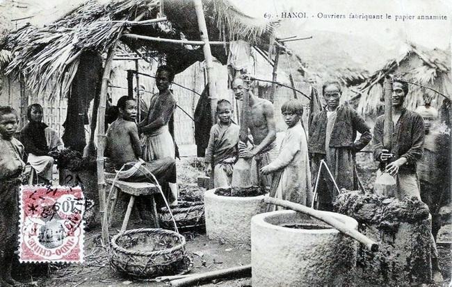 Nghề xẻ gỗ, cắt tóc của người Việt xưa - Ảnh 5.
