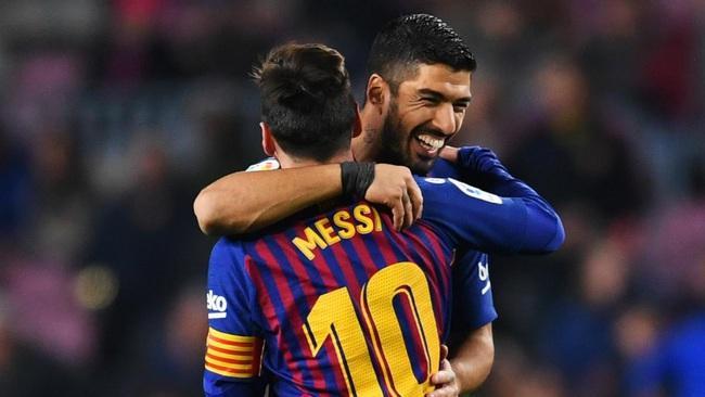 Messi và Suarez có thể tái hợp ở Mỹ.