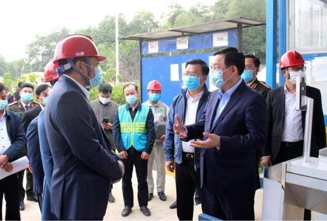 Bí thư Thành ủy Vương Đình Huệ kiểm tra đột xuất Khu Liên hợp xử lý rác thải Sóc Sơn - Ảnh 1.