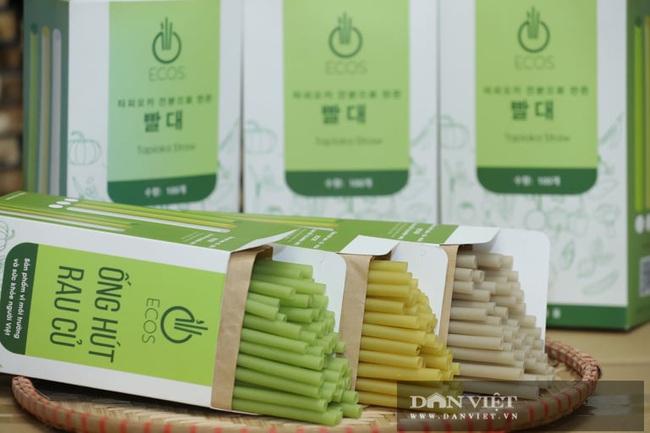 """Hà Nội: Nông dân 7X """"phù phép"""" rau, củ quả thành ống hút thân thiện môi trường, xuất khẩu đi Hàn Quốc, Đức - Ảnh 6."""