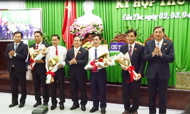 Cần Thơ có 3 tân Phó chủ tịch UBND thành phố - Ảnh 1.