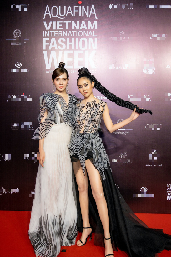 Hoa hậu Lê Âu Ngân Anh, Á hậu Kiều Loan đến ủng hộ nhà thiết kế Ivan Trần - Ảnh 5.