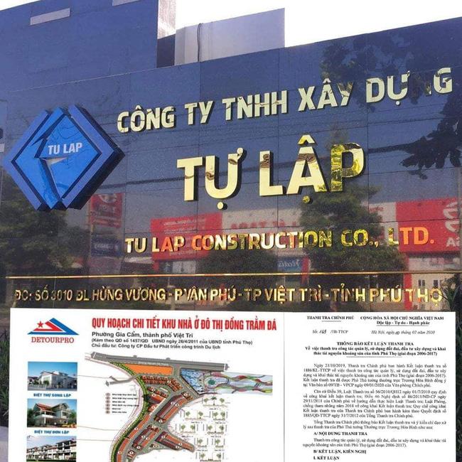 """Phú Thọ: Thanh tra Chính phủ """"chỉ mặt"""" nhiều sai phạm khủng - Ảnh 1."""