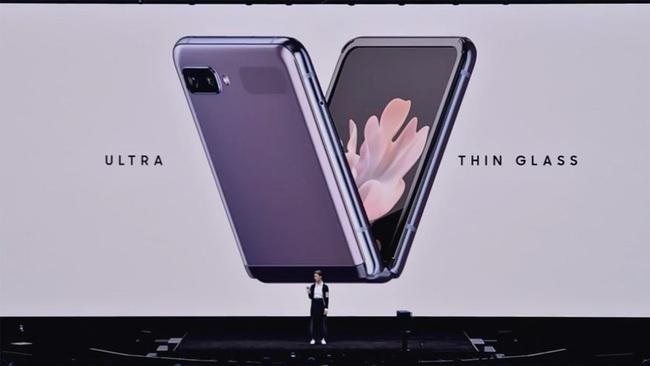 Chiêm ngưỡng smartphone màn hình gập Samsung Galaxy Z Flip - Ảnh 4.