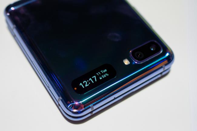 Chiêm ngưỡng smartphone màn hình gập Samsung Galaxy Z Flip - Ảnh 5.