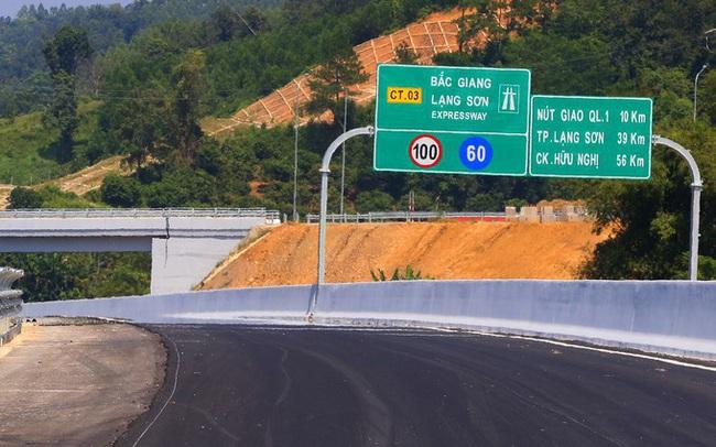 Ngày 18/2 cao tốc Bắc Giang - Lạng Sơn chính thức thu phí - Ảnh 1.