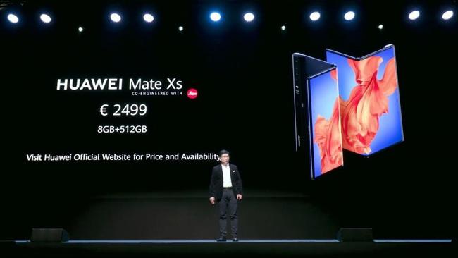 Điện thoại gập Huawei Mate Xs trình làng, giá 2.700 USD - Ảnh 5.