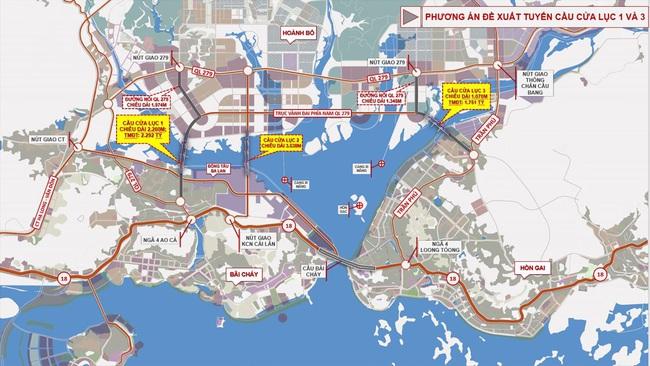 Quảng Ninh: Sắp khởi công xây dựng 2 dự án cầu Cửa Lục - Ảnh 2.