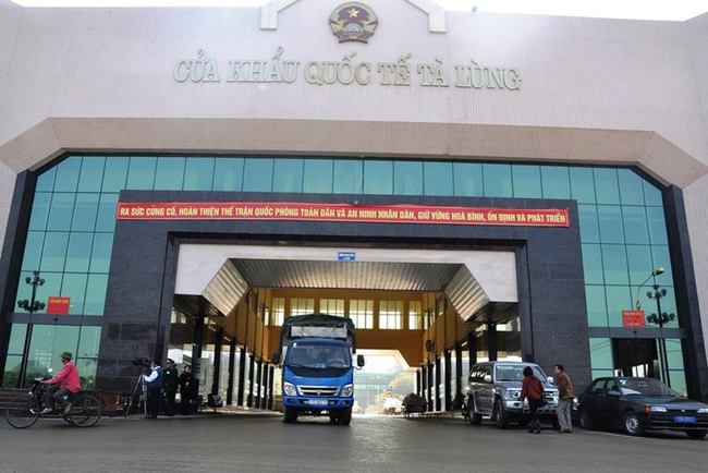 Giữa bão dịch Covid-19, thu ngân sách Hải quan Cao Bằng vẫn tăng 66% - Ảnh 1.