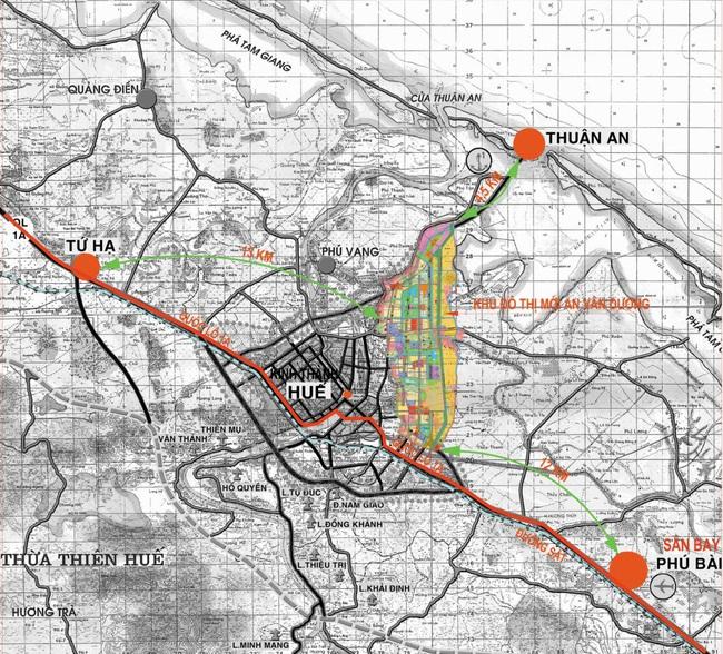 Thừa Thiên Huế: Tìm nhà đầu tư cho 2 dự án tại KĐT mới An Vân Dương - Ảnh 1.