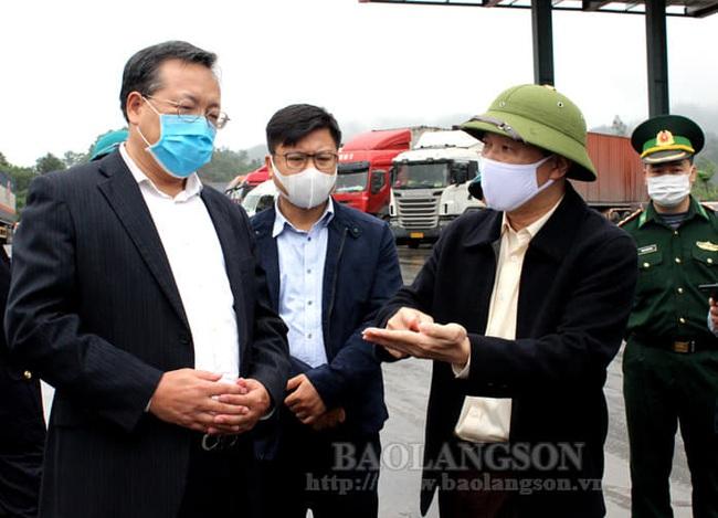 Đã thông quan 848.000 tấn hàng hóa qua các cửa khẩu biên giới Lạng Sơn - Ảnh 1.