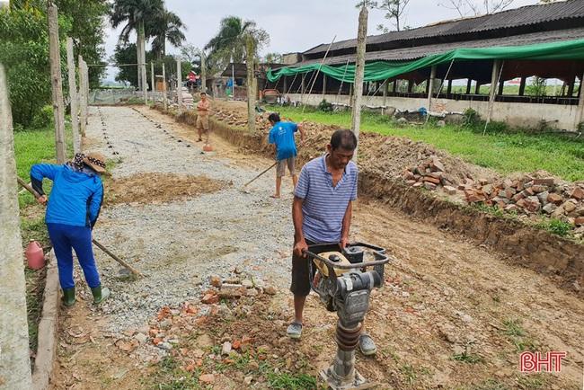 Nông dân đầu tiên ở Hà Tĩnh nuôi bò đực sữa của Tập đoàn TH True Milk - Ảnh 13.