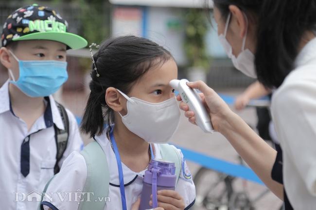 Học sinh tiểu học háo hức quay trở lại trường sau thời gian dài nghỉ dịch - Ảnh 8.