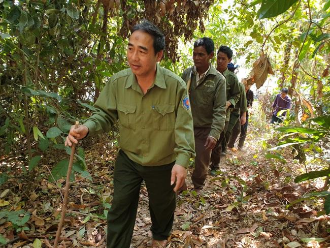 Theo chân người dân tuần tra bảo vệ rừng  - Ảnh 1.
