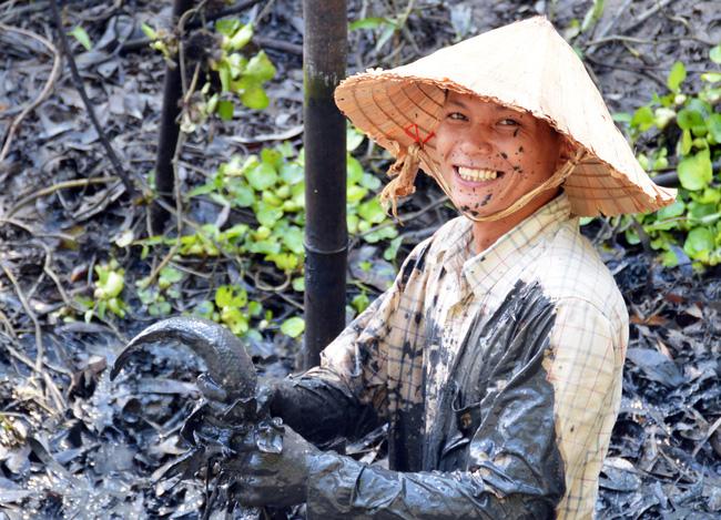 Bắt cá đồng mùa khô nơi đất Mũi  - Ảnh 3.