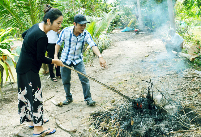 Bắt cá đồng mùa khô nơi đất Mũi  - Ảnh 6.