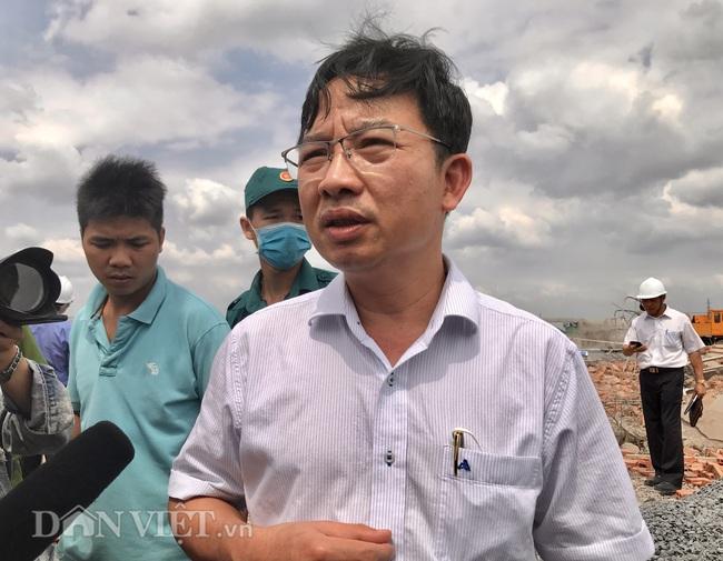 Bộ Xây dựng và Bộ LĐTB&XH đến hiện trường vụ sập khiến 10 người tử vong - Ảnh 9.