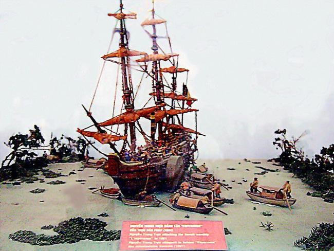 Ai là người Việt đầu tiên đánh chìm chiến hạm Pháp? - Ảnh 3.