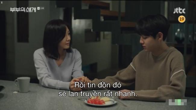 Sun Woo có cơ hội trò chuyện với con trai. Từ đó, hai mẹ con thấu hiểu nhau hơn.