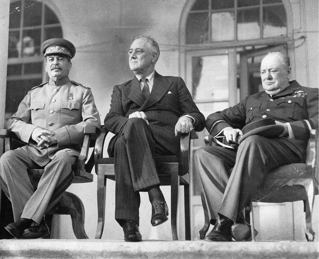 Tiết lộ những thỏa thuận tại 'Hội nghị Tam cường' đầu tiên - Ảnh 1.