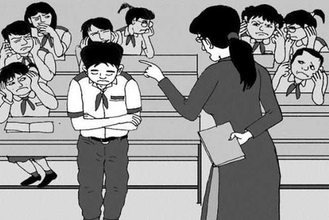 Tránh lạm dụng các hình thức xử phạt đối với học sinh - Ảnh 1.