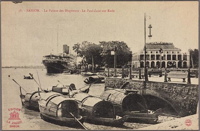 Ảnh lịch sử cực quý về bến Nhà Rồng ở Sài Gòn - Ảnh 3.