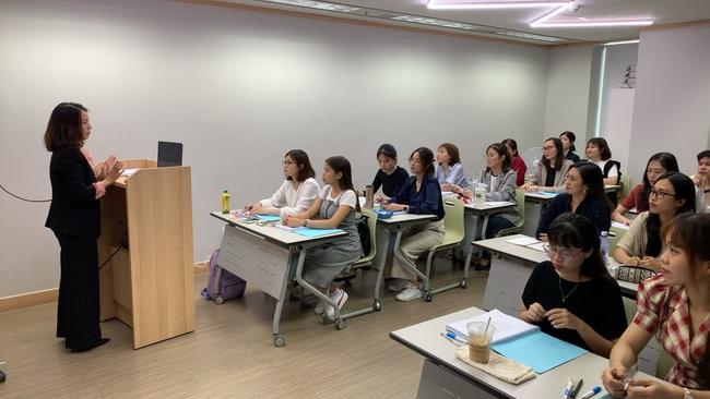Lần đầu tiên có khóa đào tạo giáo viên tiếng Hàn tại Việt Nam - Ảnh 1.