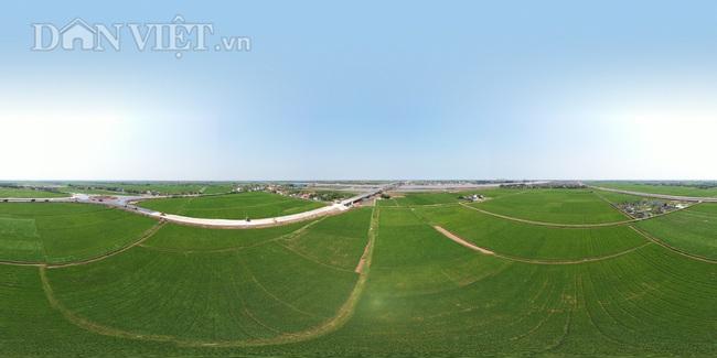 Cận cảnh cầu Thịnh Long nối đôi bờ sông Ninh Cơ trước ngày thông xe - Ảnh 9.