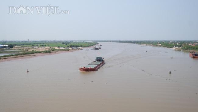 Cận cảnh cầu Thịnh Long nối đôi bờ sông Ninh Cơ trước ngày thông xe - Ảnh 7.