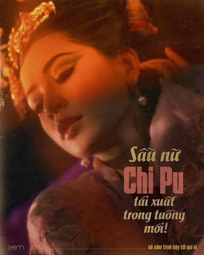 """Chi Pu tự nhận là """"sầu nữ"""", xuất hiện trong poster giống hình tượng """"yêu nhền nhện"""" trong """"Tây du ký"""" - Ảnh 1."""