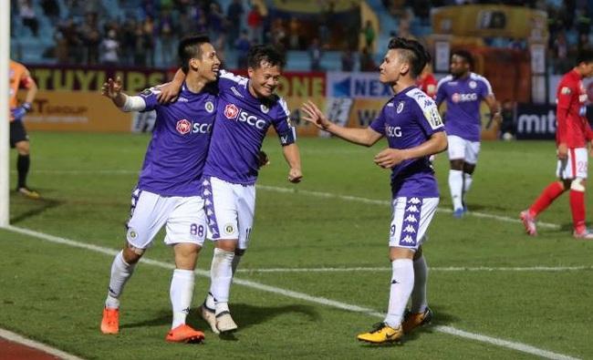 Nhờ Đỗ Hùng Dũng, Hà Nội FC san bằng siêu kỷ lục của bóng đá Việt Nam - Ảnh 1.