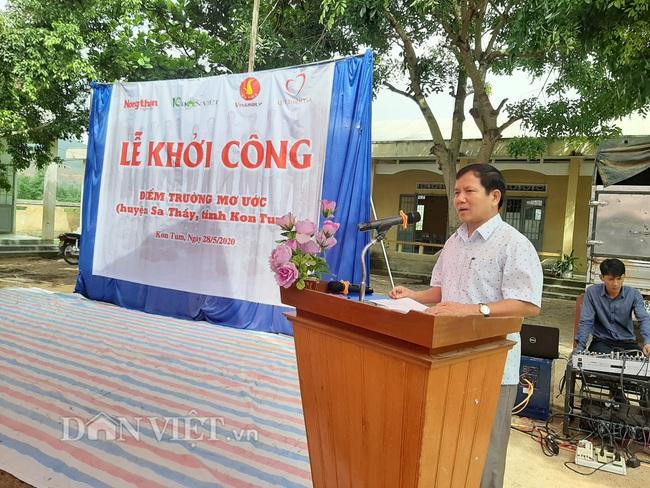 Báo Dân Việt khởi công phòng học tại điểm trường ở Kon Tum - Ảnh 5.