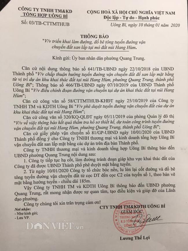 Vụ khai thác đất đá tại núi Hang Hùm: Tranh cãi gay gắt về hợp đồng - Ảnh 5.