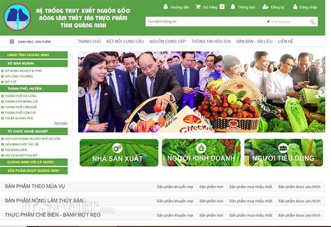 Quảng Ninh: Hoàn thiện hệ thống truy xuất nguồn gốc nông sản trực tuyến  - Ảnh 3.