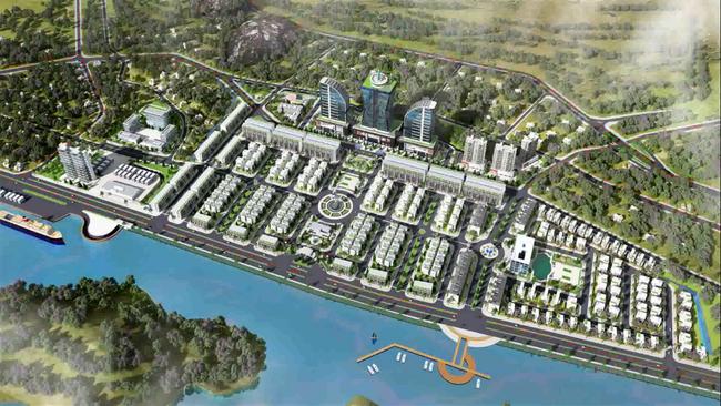 """Quảng Ninh xây dựng """"siêu"""" đô thị gần 70ha khu vực núi Hạm  - Ảnh 1."""