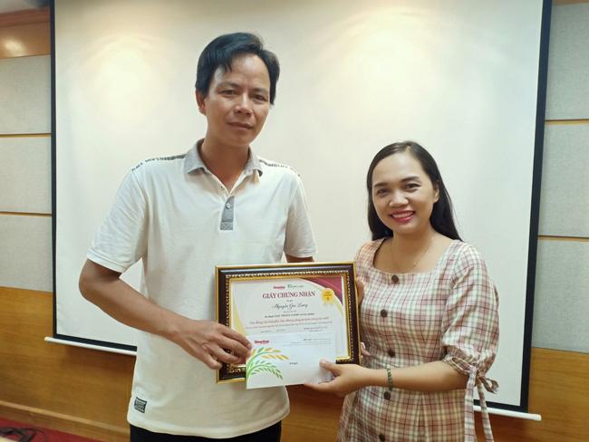 Trao giải xuất sắc tháng 5/2020 cuộc thi Làm báo cùng Dân Việt - Ảnh 1.
