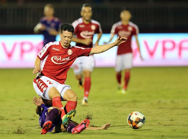 Công Phượng chơi tốt trước Viettel. Ảnh: 24h.com.vn